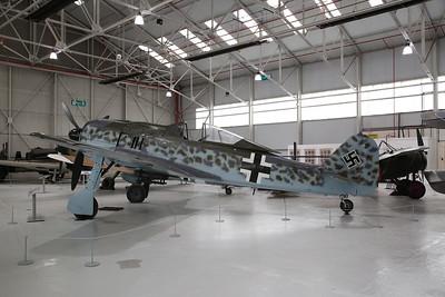 ex-Luftwaffe Focke-Wulf Fw 190 A-8, 584219, on display, RAF Museum, Cosford - 19/04/17.