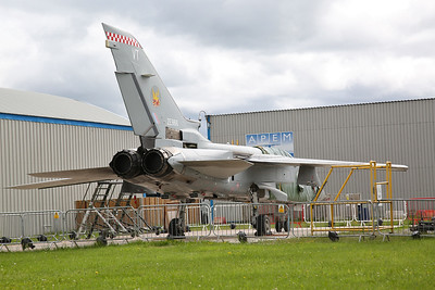RAF Panavia Tornado F3, ZE966, stored pending future display at the 'Tornado Heritage centre' - 13/06/17.