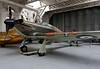 Hawker Hurricane XII P3700 'RF-E', Imperial War Museum, Duxford, 31 December 2012.  Canadian built.