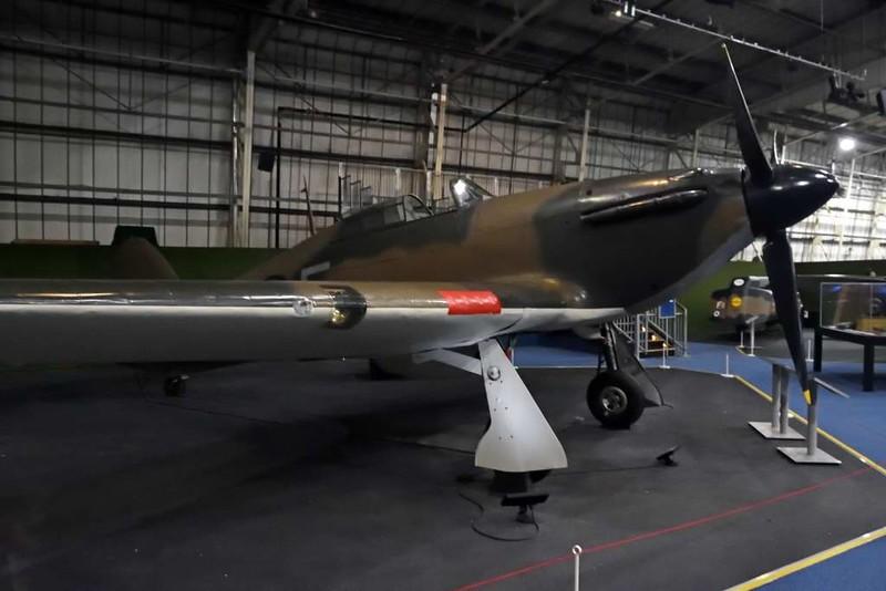 Hawker Hurricane I P2617 'AF-F', Royal Air Force Museum, Hendon, 10 September 2015 1.
