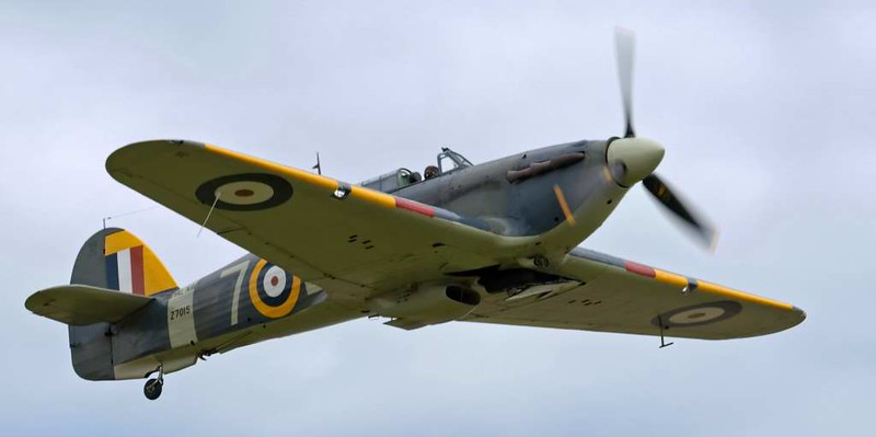 Hawker Sea Hurricane IB Z7015 7-L, Flying Legends airshow, Duxford, 13 July 2008 2.
