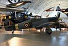 Hawker Hurricane IIc LF686, Smithsonian Udvar-Hazy air and space museum, Chantilly, Virginia, 14 May 2017.  The Smithsonian acquired this Hurricane from the RAF Museum in exchange for ...