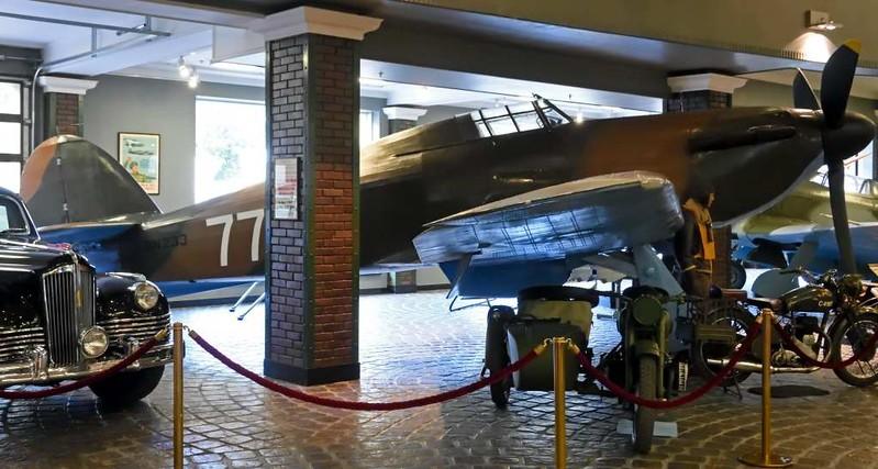 Hawker Hurricane II 'BN233 77' (AP740), Vadim Zadorozhny technology museum, Moscow, 29 August 2015 3