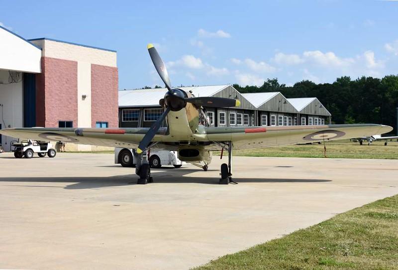 Hawker Hurricane XII 'V6793 DZ-O', Military Aviation Museum, Virginia Beach, Virginia, 19 May 2017 7.
