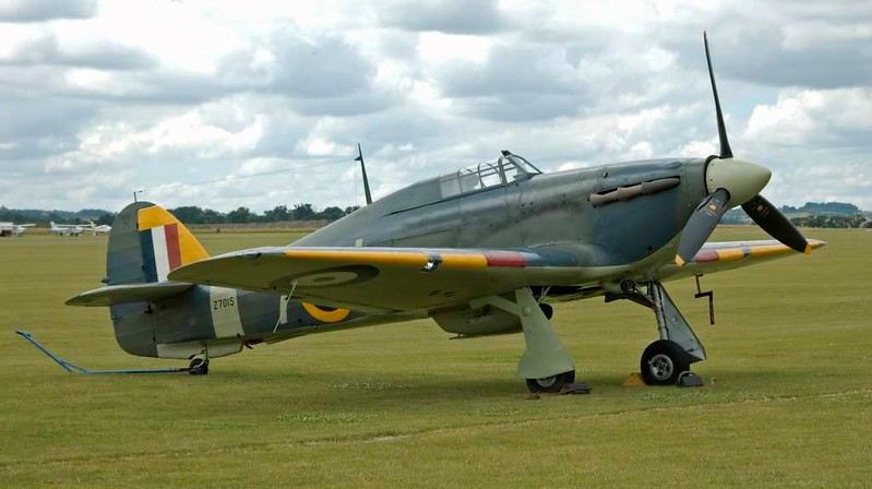 Hawker Sea Hurricane IB Z7015 7-L, Flying Legends airshow, Duxford, 13 July 2008 1.