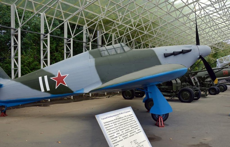 Unidentified Hawker Hurricane IIB, Great Patriotic War Museum, Moscow, 29 August 2015 3.