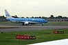 KLM Boeing 737-800 PH-HSD, Heathrow airport, Thurs 3 May 2018 - 0957.