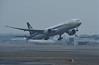 Jet Airways Boeing 777-300 VT-JEM, Heathrow airport, Fri 2 March 2018 - 1020.