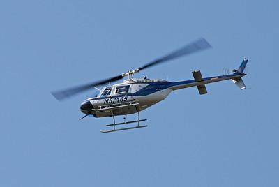 Jet Ranger over Derby