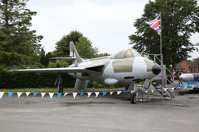Hawker Hunter WT680 at Fleet Hargate, 17th June 2018