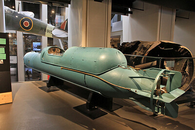Italian Midget Submarine / Human Torpedo - 05/07/16.