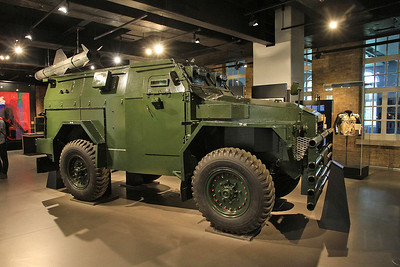 Humber Pig Mk 2 armoured truck - used in Northern Ireland during the 'troubles' - 05/07/16.
