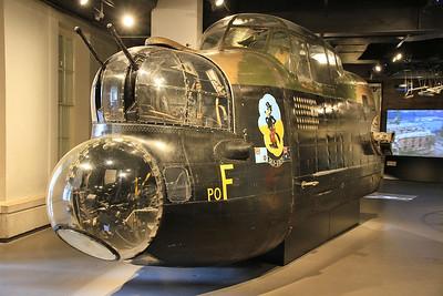 Avro 683 Lancaster Mk1, DV732, nose section - 05/07/16.
