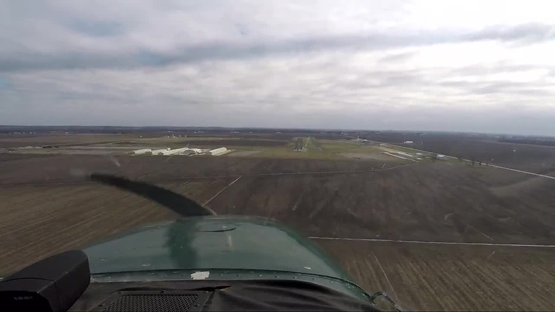 Cessna 172 Landing