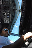 Capt. Bobby Bhatt, flight deck Boeing 737-800