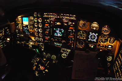 Cockpit King Air Beech 200
