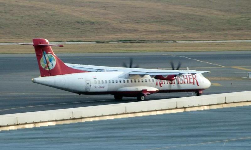 Kingfisher ATR 72 VT-KAQ, Delhi Indira Gandhi international airport (DEL / VIDP), 31 March 2012