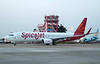 SpiceJet Boeing 737-800 VT-SGQ, Chennai international airport (MAA / VOMM), 22 March 2012