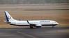 Orenair Boeing 737-800 VQ-BNK, Delhi Indira Gandhi international airport (DEL / VIDP), 31 March 2012