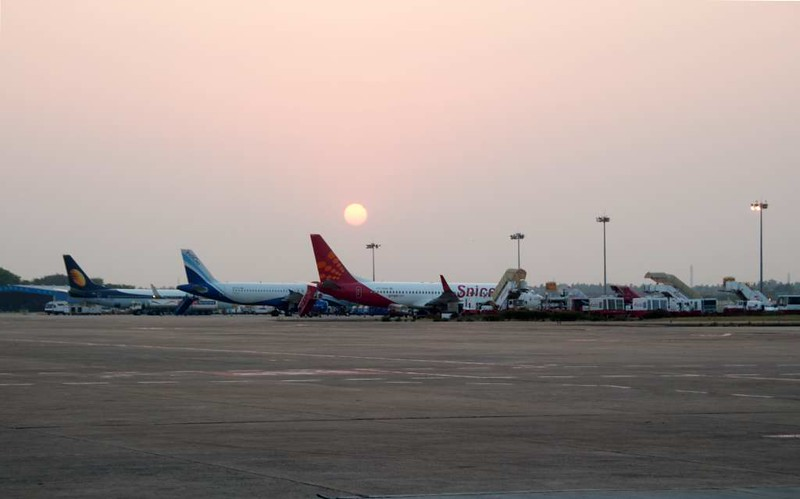 Chennai international airport (MAA / VOMM), 22 March 2012