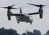 Third Place, Military Aircraft Category:  A USMC MV-22 Osprey takes off.