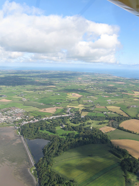 The Ards peninsula looking North
