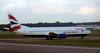 British Airways Boeing 737-400 G-DOCE, Gatwick, 14 September 2007 - 1745