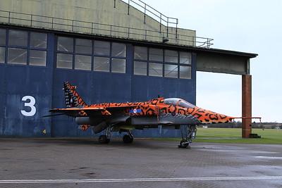 RAF SEPECAT Jaguar GR.3A, XX119 / AI 'Spotty' - 16/01/17.