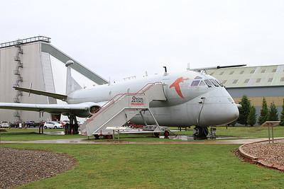 ex-RAF Hawker Siddeley Nimrod R.1, XV249, on display outside the RAF Museum, Cosford - 16/01/17.