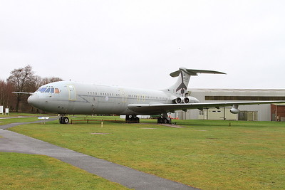 ex-RAF Vickers VC10 C1K, XR808, on display at the entrance to the RAF Museum, Cosford - 16/01/17.