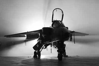 'Tornados & Jaguars come out at night' - Timeline photoshoot at RAF Cosford, 16th January 2017