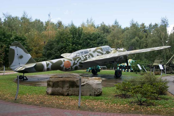Kawasaki Ki-48 ('Lily') light bomber, Great Patriotic War Museum, Moscow, 29 August 2015 2.