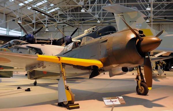 Kawasaki Ki-100-1b fighter 16336, Royal Air Force Museum, Cosford, 14 December 2012 2.