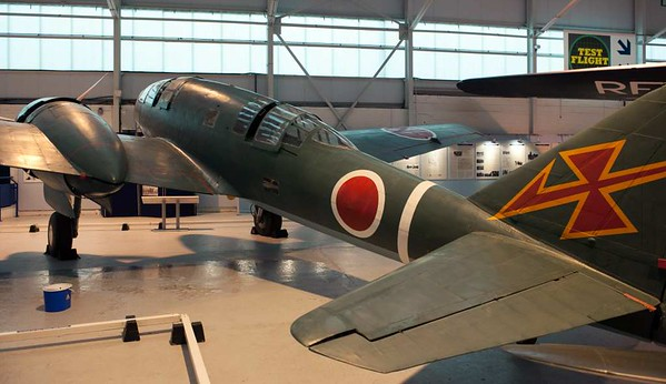 Mitsubishi Ki-46 III ('Dinah') reconnaissance aircraft, Royal Air force Museum, Cosford, 14 December 2012 3.