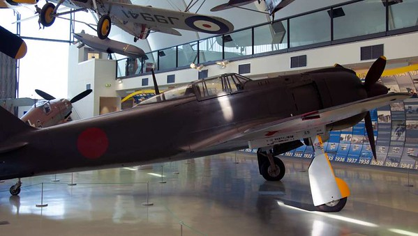Kawasaki Ki-100-1b fighter 16336, Royal Air Force Museum, Hendon, 18 September 2007 4.