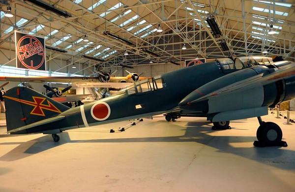 Mitsubishi Ki-46 III ('Dinah') reconnaissance aircraft, Royal Air force Museum, Cosford, 14 December 2012 2.