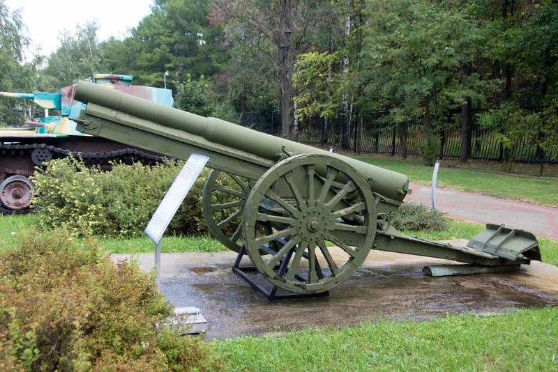 Japanese 105mm Type 38 field gun Mod 1905, Great Patriotic War Museum, Moscow, 29 August 2015.