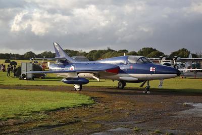 ex-RAF & RN Hawker Hunter T.8.C, WV322 - 27/09/19