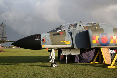 Cockpit section of ex-RAF McDonnell Douglas Phantom FGR.2, XV490 - 27/09/19