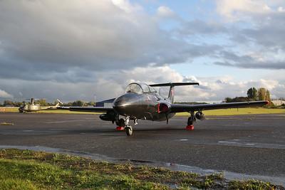 ex-Estonian AF Aero Vodochody L-29 Delfin, G-BYCT - 27/09/19