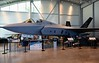 Lockheed Martin X-35C, Patuxent River Naval Air Museum, Maryland, 16 May 2017 1.  Carrier version, modified for catapult take-offs and arrestor cable landings.  The F-35A is conventional.