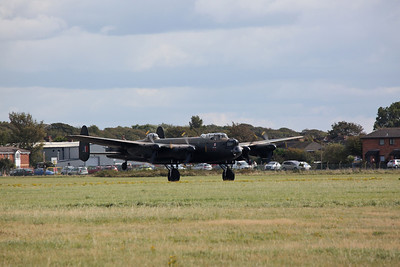 BBMF Avro Lancaster, PA474, taking off - 17/09/17