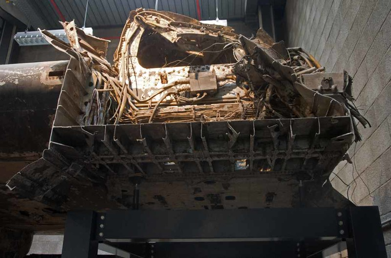 Avro Lancaster BIII JA914 / DX-O, German Technical Museun, Berlin, 5 June 2016 4.  Here are two shots of the remains of the central fuselage.