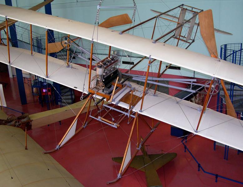 1910 - Wright Baby, Musee de l'Air et de l'Espace, Le Bourget, Paris, 10 May 2005.