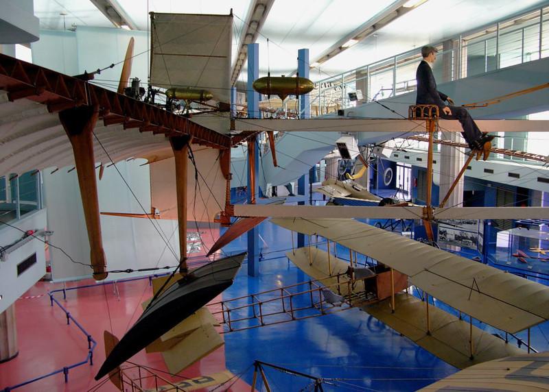 1910 - Fabre Hydravion, Musee de l'Air et de l'Espace, Le Bourget, Paris, 10 May 2005 2