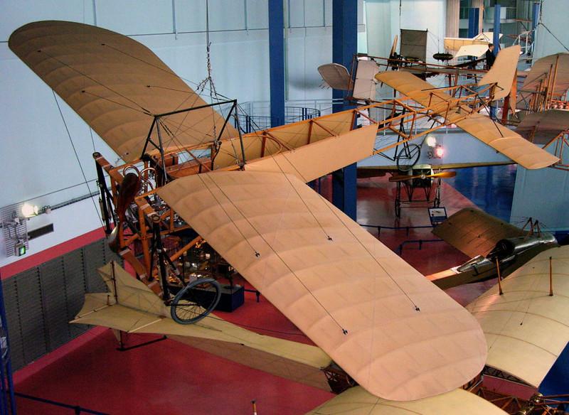 1909 - Bleriot XI, Musee de l'Air et de l'Espace, Le Bourget, Paris, 10 May 2005 1