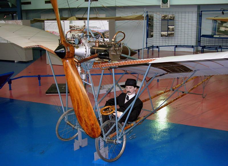 1908 - Santos-Dumont Demoiselle, Musee de l'Air et de l'Espace, Le Bourget, Paris, 10 May 2005 1.