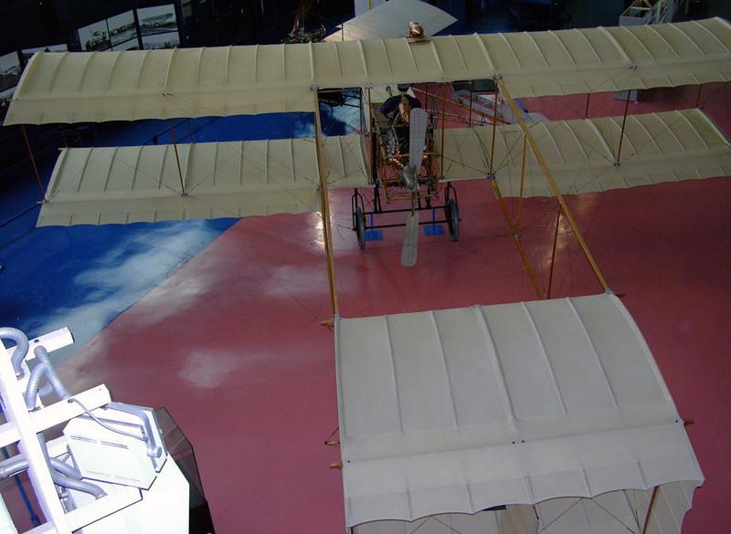 1907 - Voisin, Musee de l'Air et de l'Espace, Le Bourget, Paris, 10 May 2005 1.
