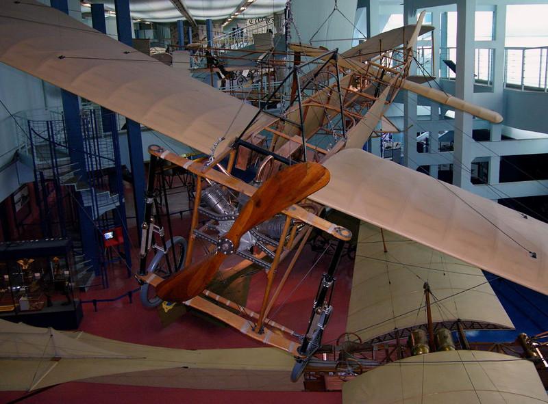 1909 - Bleriot XI, Musee de l'Air et de l'Espace, Le Bourget, Paris, 10 May 2005 2