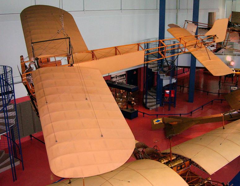 1909 - Bleriot XI, Musee de l'Air et de l'Espace, Le Bourget, Paris, 10 May 2005 3